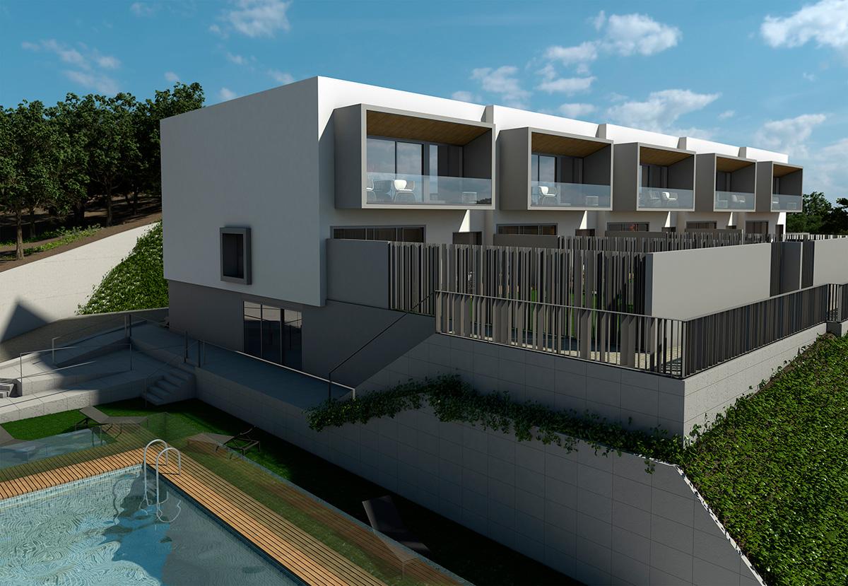 Construccion 5 viviendas unifamiliares montecillo de las - Construccion viviendas unifamiliares ...